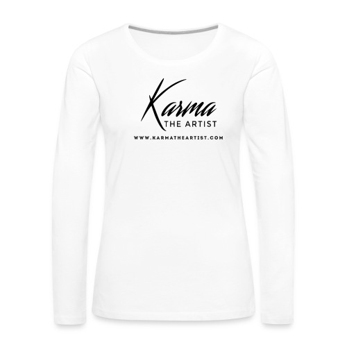 Karma - Women's Premium Long Sleeve T-Shirt