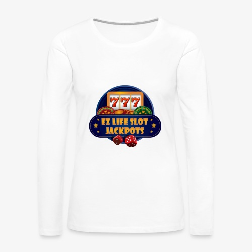 EZ Life Logo - Women's Premium Long Sleeve T-Shirt