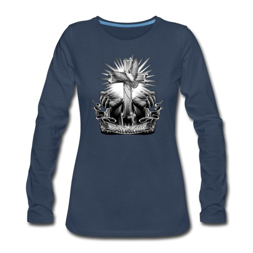 Salvacion by RollinLow - Women's Premium Long Sleeve T-Shirt