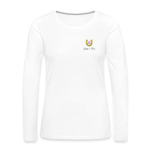 Lucky 7 Logo With Words - Women's Premium Long Sleeve T-Shirt