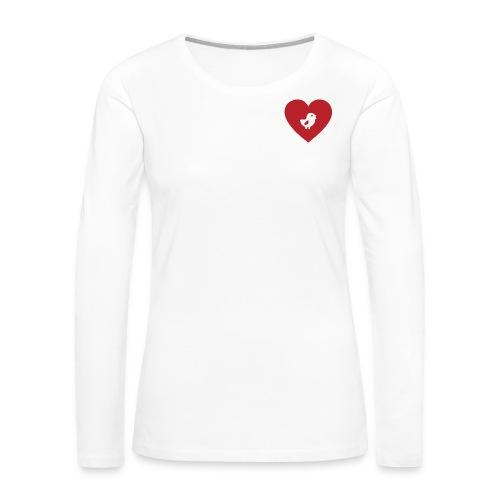 Heart Chick - Women's Premium Long Sleeve T-Shirt