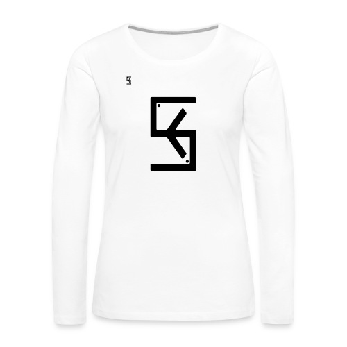 Soft Kore Logo Black - Women's Premium Long Sleeve T-Shirt