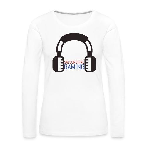 salsunshine gaming logo - Women's Premium Long Sleeve T-Shirt