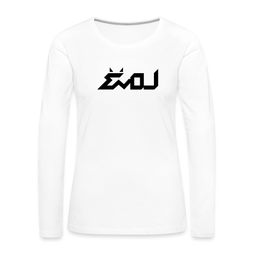 evol logo - Women's Premium Long Sleeve T-Shirt