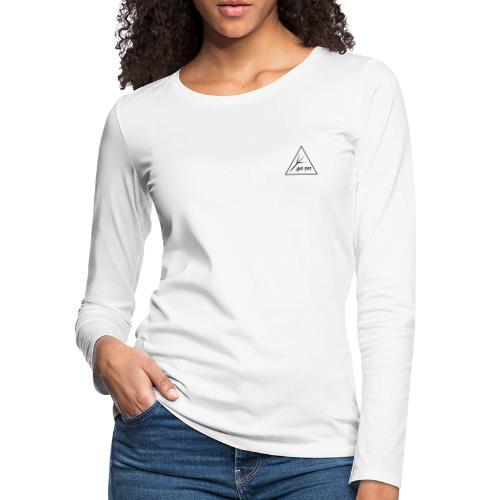 Black Triangle - Women's Premium Slim Fit Long Sleeve T-Shirt