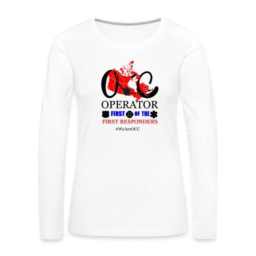 We Are OCC Plus Size - Women's Premium Long Sleeve T-Shirt