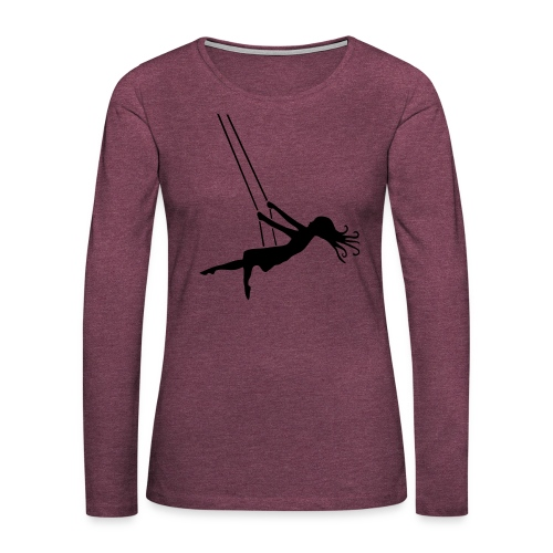 Swinging Girl - Women's Premium Long Sleeve T-Shirt