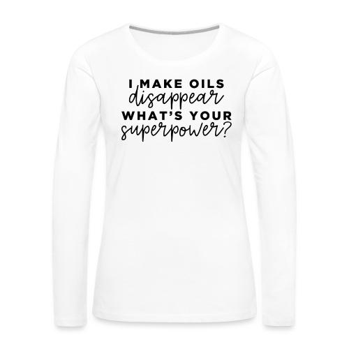 SuperPower - Women's Premium Long Sleeve T-Shirt