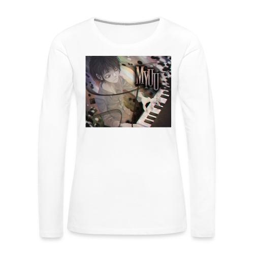 Dark Piano 1 - Women's Premium Long Sleeve T-Shirt
