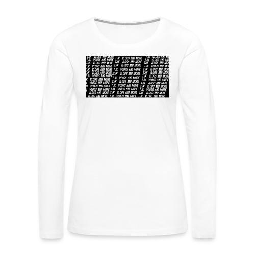 TJK First Apparel Design - Women's Premium Long Sleeve T-Shirt