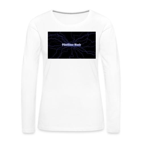 backgrounder - Women's Premium Long Sleeve T-Shirt