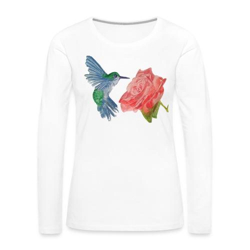 Hummingbird - Women's Premium Slim Fit Long Sleeve T-Shirt