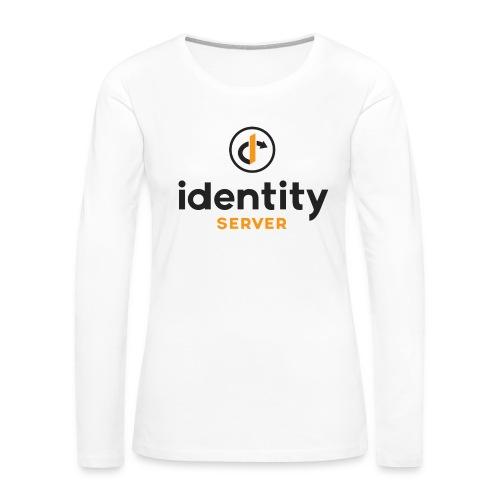 Idenity Server Mug - Women's Premium Slim Fit Long Sleeve T-Shirt