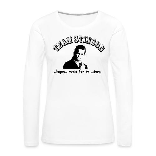 3134862_13873489_team_stinson_orig - Women's Premium Long Sleeve T-Shirt