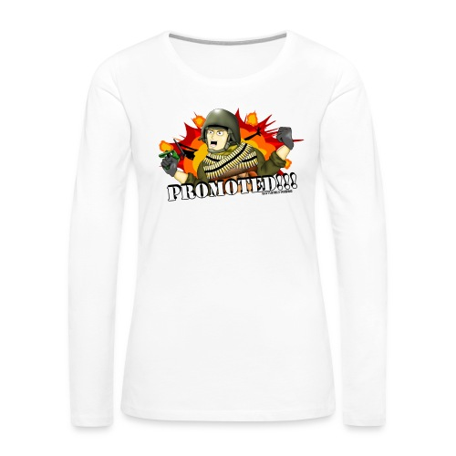 Promoted! Hank & Jed - Women's Premium Long Sleeve T-Shirt