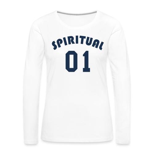 Spiritual One - Women's Premium Slim Fit Long Sleeve T-Shirt