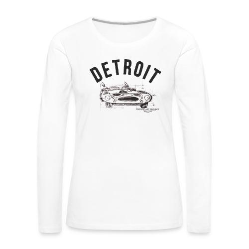 Detroit Art Project - Women's Premium Slim Fit Long Sleeve T-Shirt