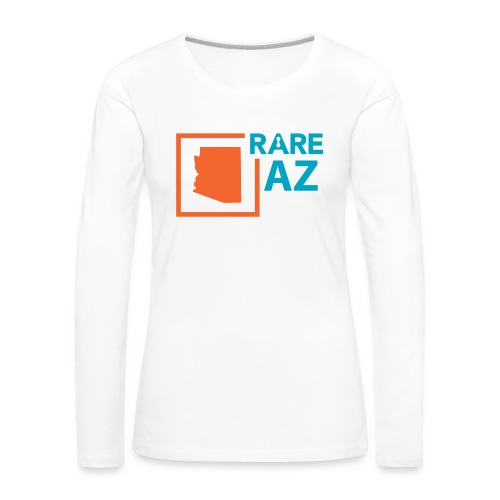 State_Ambassador_Logos_AZ - Women's Premium Slim Fit Long Sleeve T-Shirt