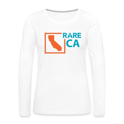 State_Ambassador_Logos_CA - Women's Premium Slim Fit Long Sleeve T-Shirt