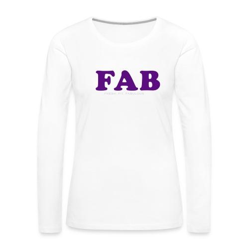 FAB Tank - Women's Premium Long Sleeve T-Shirt