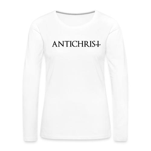 Antichrist - Women's Premium Slim Fit Long Sleeve T-Shirt