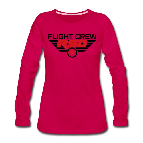 RSD Flight Crew - Women's Premium Long Sleeve T-Shirt