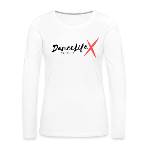 DL-Logo-Master - Women's Premium Slim Fit Long Sleeve T-Shirt