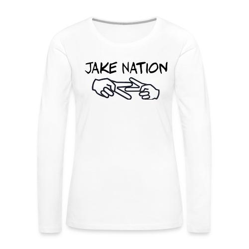 Jake nation phone cases - Women's Premium Long Sleeve T-Shirt