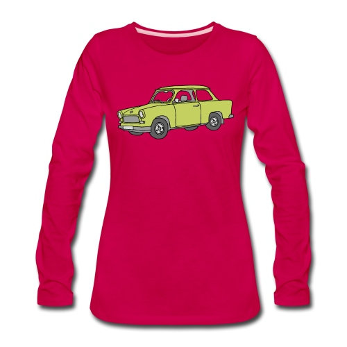 Trabant (baligreen car) - Women's Premium Long Sleeve T-Shirt