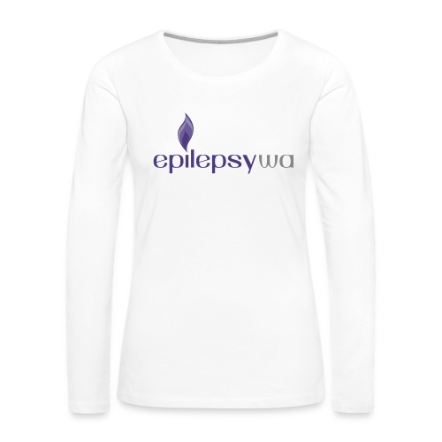 Epilepsy WA - Women's Premium Slim Fit Long Sleeve T-Shirt