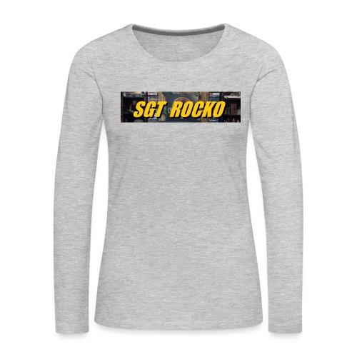 RockoWear Banner - Women's Premium Long Sleeve T-Shirt