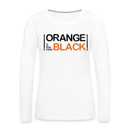 Free Piper, Orange is the New Black Women's - Women's Premium Slim Fit Long Sleeve T-Shirt