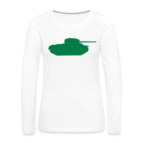T49 - Women's Premium Slim Fit Long Sleeve T-Shirt