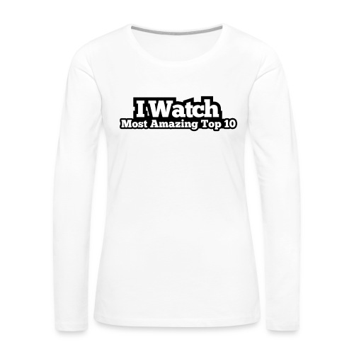 @clouted - Women's Premium Slim Fit Long Sleeve T-Shirt