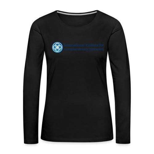 The IICT Brand - Women's Premium Slim Fit Long Sleeve T-Shirt