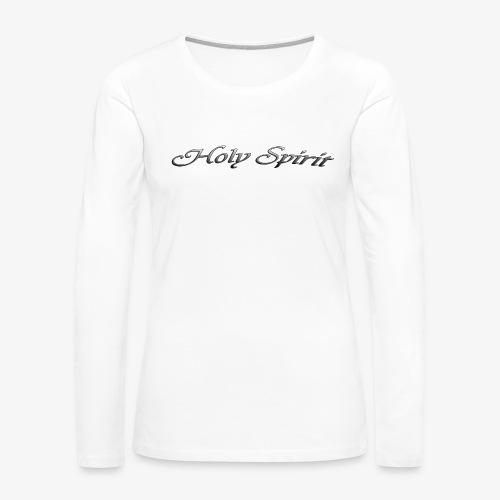 HOLY SPIRIT-23 - Women's Premium Slim Fit Long Sleeve T-Shirt