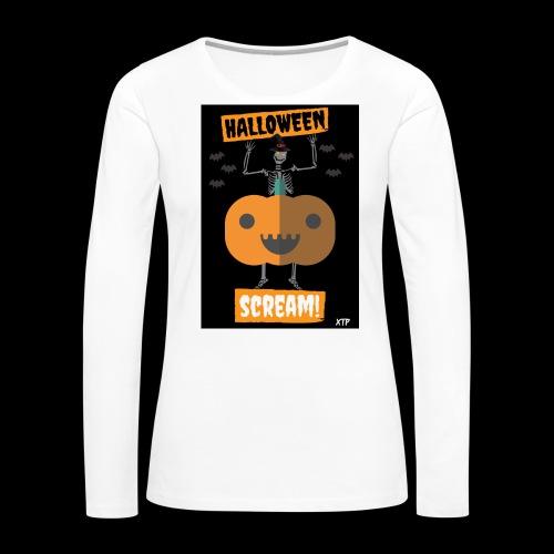 Halloween night - Women's Premium Long Sleeve T-Shirt
