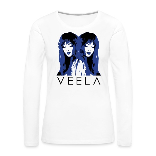 Double Veela Light Women's - Women's Premium Slim Fit Long Sleeve T-Shirt