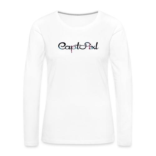 My YouTube Watermark - Women's Premium Slim Fit Long Sleeve T-Shirt