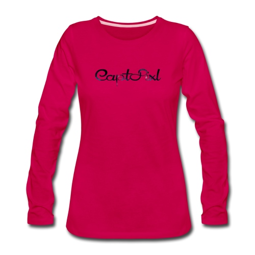 My YouTube Watermark - Women's Premium Long Sleeve T-Shirt