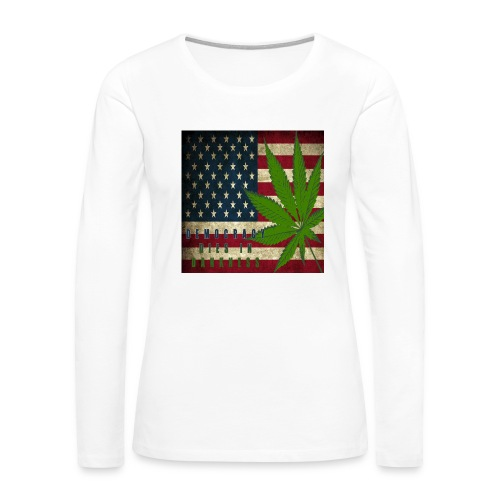 Political humor - Women's Premium Slim Fit Long Sleeve T-Shirt