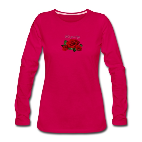 rose shirt - Women's Premium Long Sleeve T-Shirt