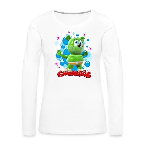 Gummibär Bubbles - Women's Premium Long Sleeve T-Shirt