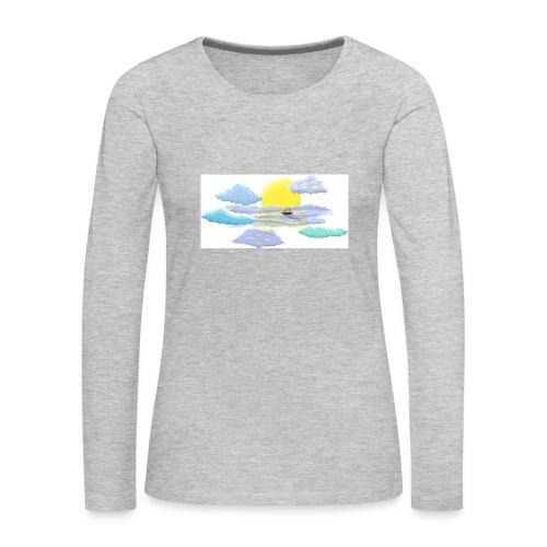 Sea of Clouds - Women's Premium Long Sleeve T-Shirt