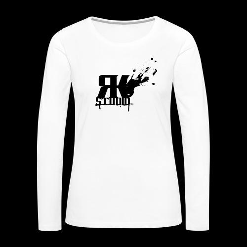 RKStudio Black Version - Women's Premium Slim Fit Long Sleeve T-Shirt