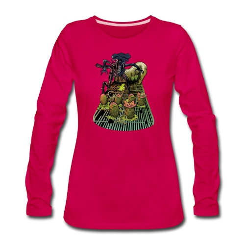 Xenomorph Queen - Women's Premium Long Sleeve T-Shirt