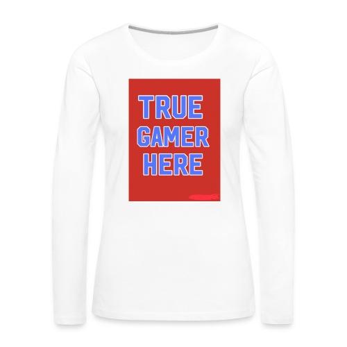 58722AF6 0345 4B70 A70B FBF270884866 - Women's Premium Long Sleeve T-Shirt