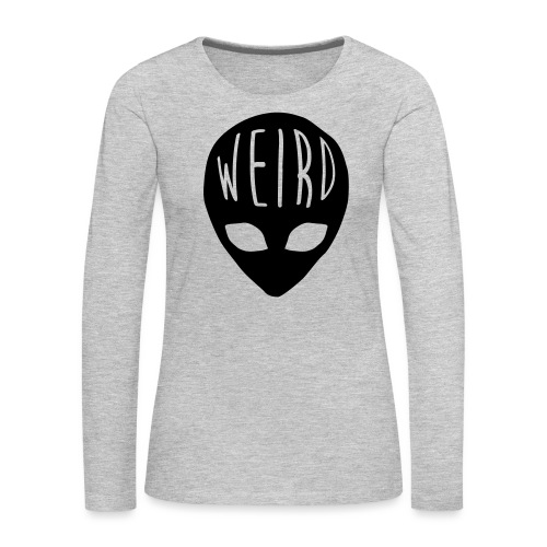 Out Of This World - Women's Premium Slim Fit Long Sleeve T-Shirt