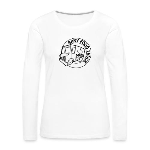 Baby Food truck - Women's Premium Long Sleeve T-Shirt