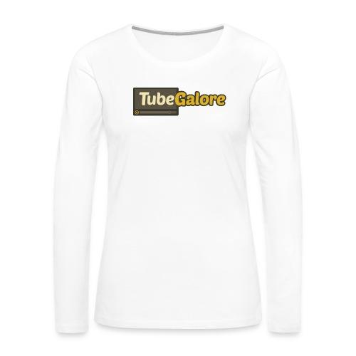 tubegalore_design - Women's Premium Slim Fit Long Sleeve T-Shirt